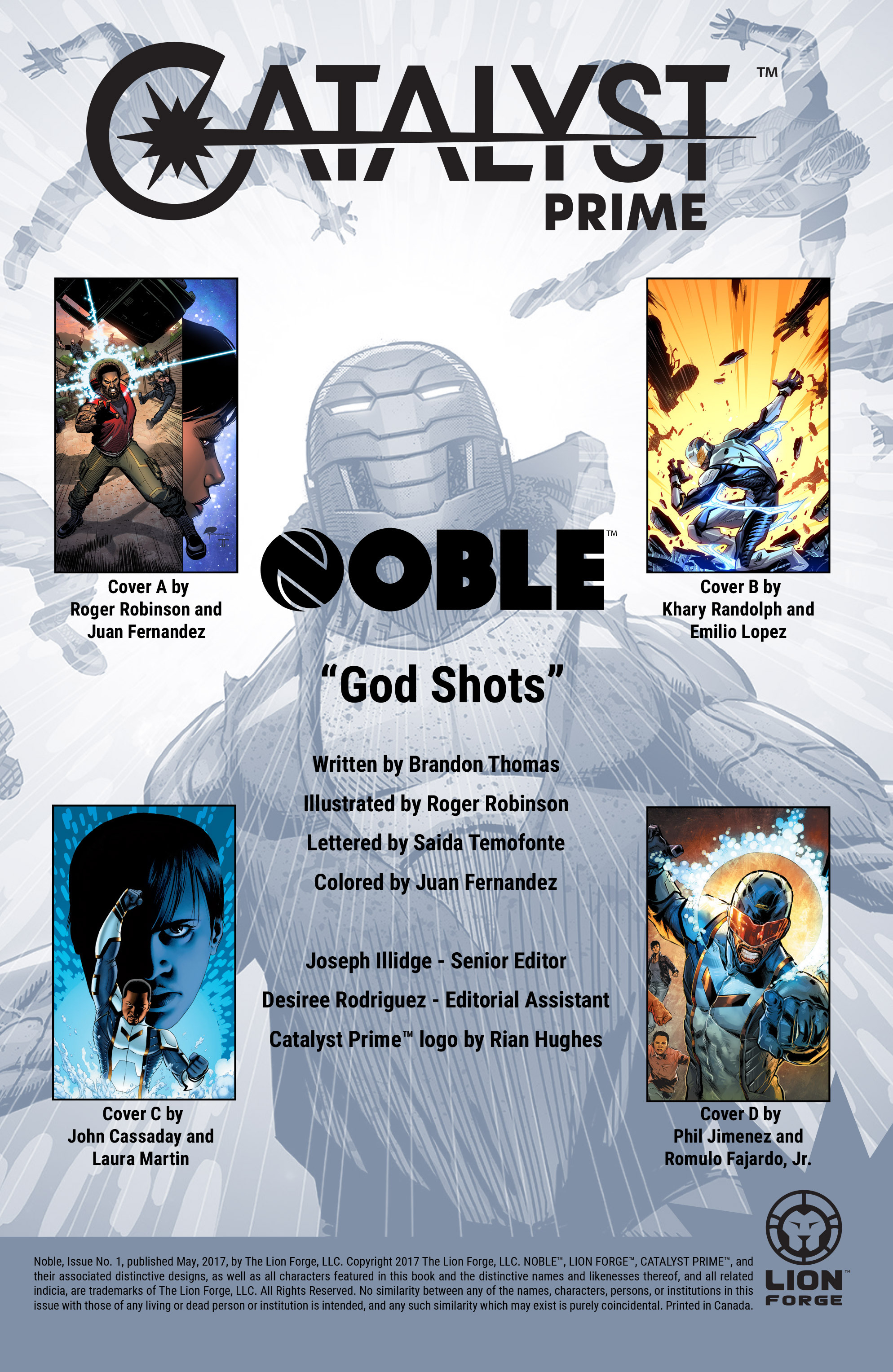 Read online Noble comic -  Issue #1 - 2