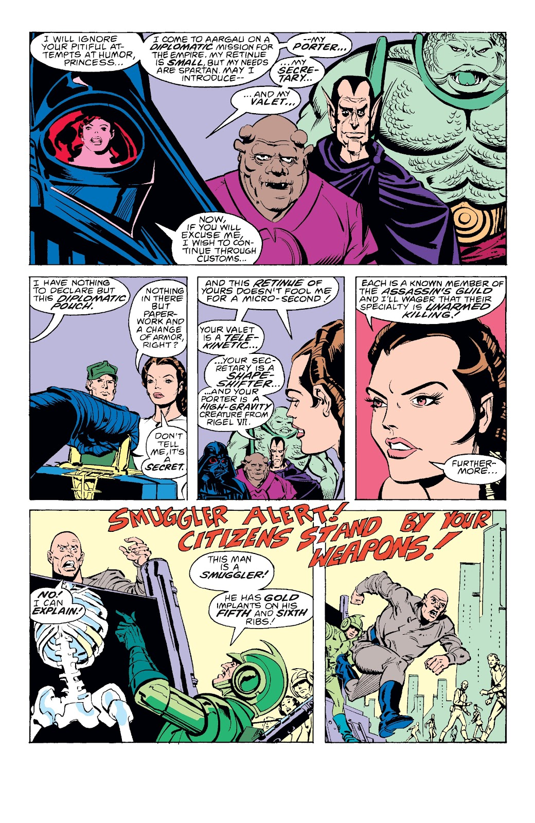 Read online Star Wars Legends: The Original Marvel Years - Epic Collection comic -  Issue # TPB 3 (Part 2) - 86
