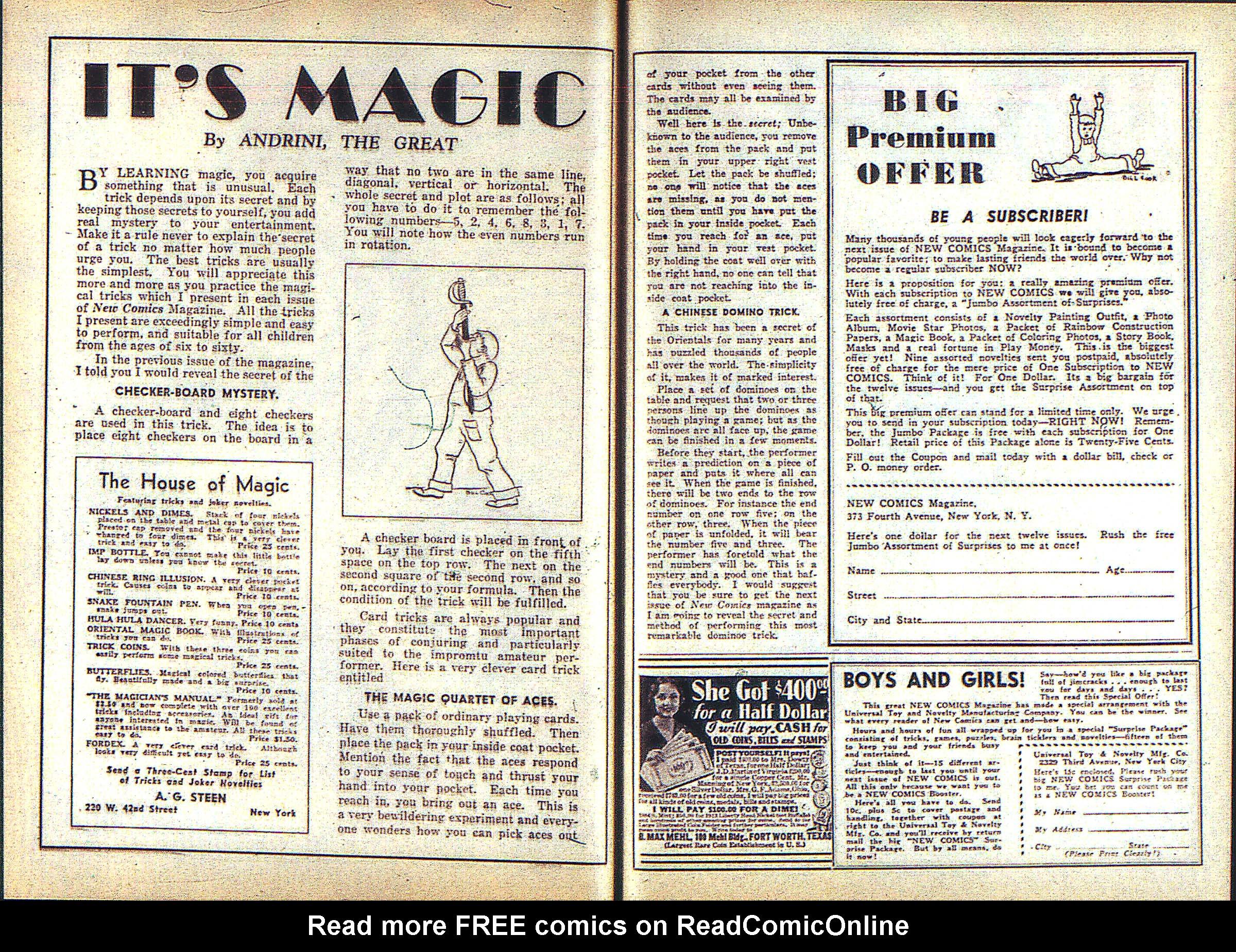 Read online Adventure Comics (1938) comic -  Issue #3 - 29