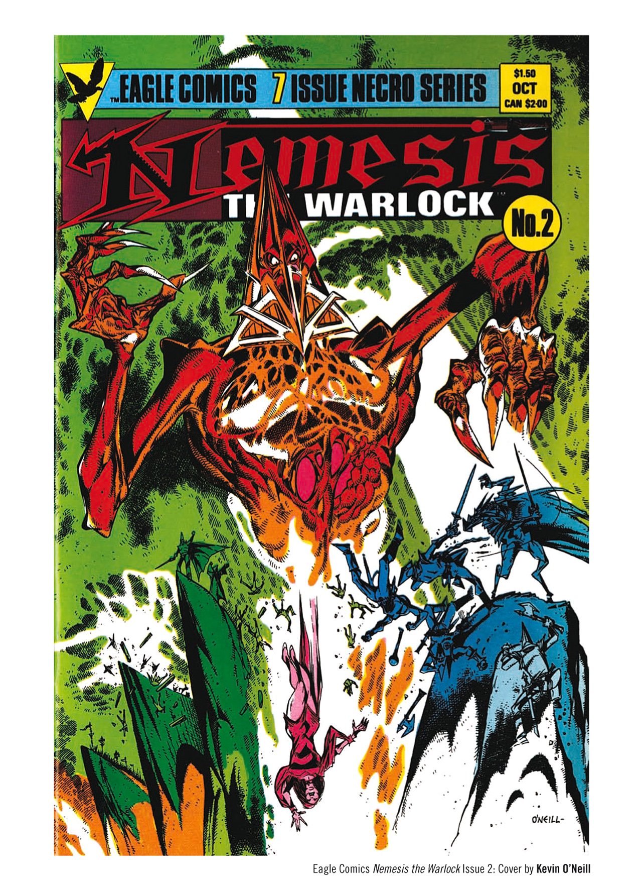 Read online Nemesis The Warlock comic -  Issue # TPB Deviant Edition - 223