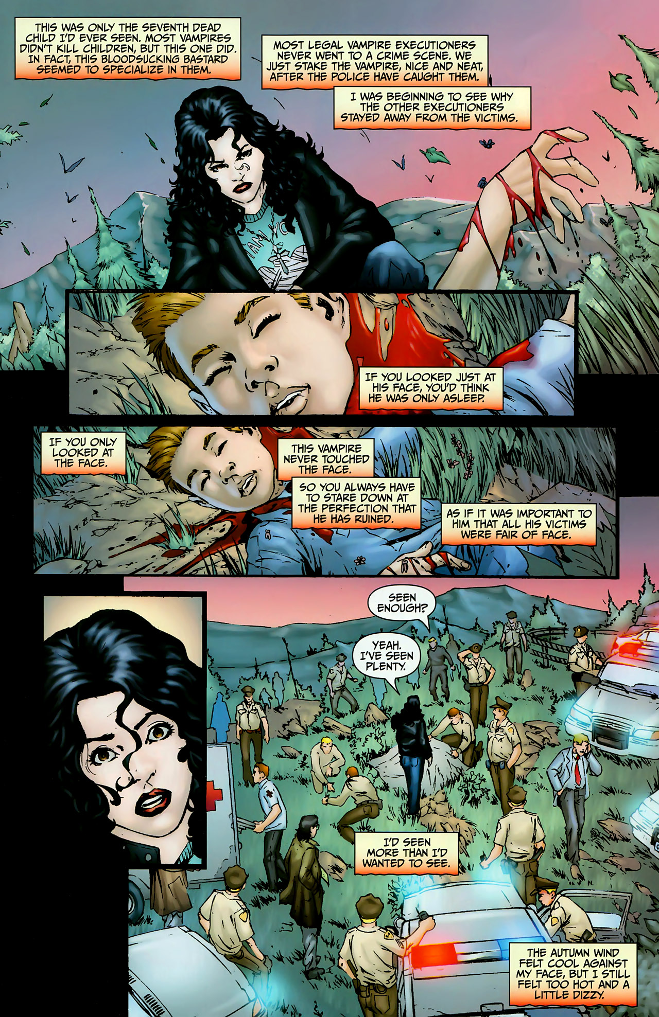 Read online Anita Blake, Vampire Hunter: The First Death comic -  Issue #1 - 3