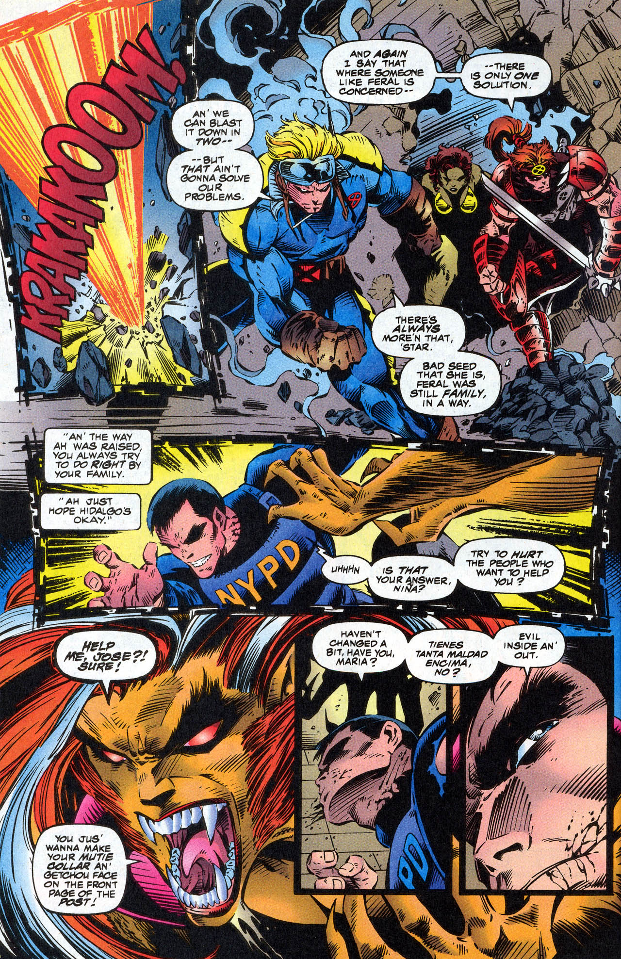 Read online X-Force (1991) comic -  Issue #41 - 10