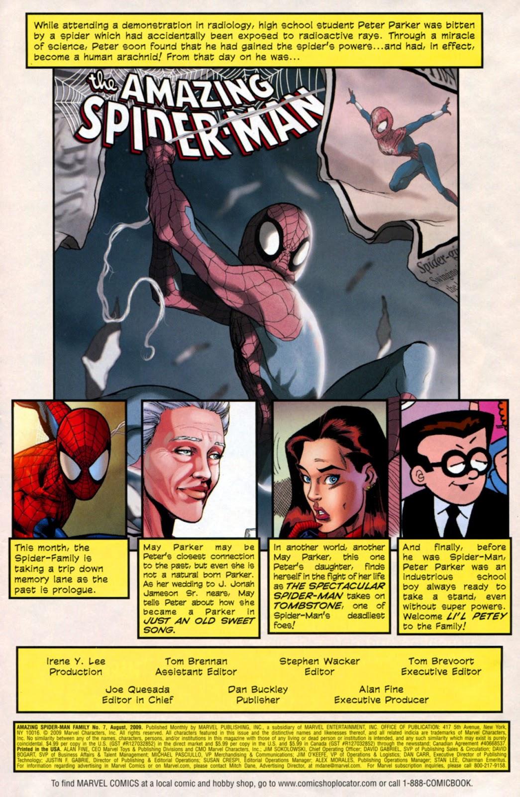 Amazing Spider-Man Family Issue #7 #7 - English 2