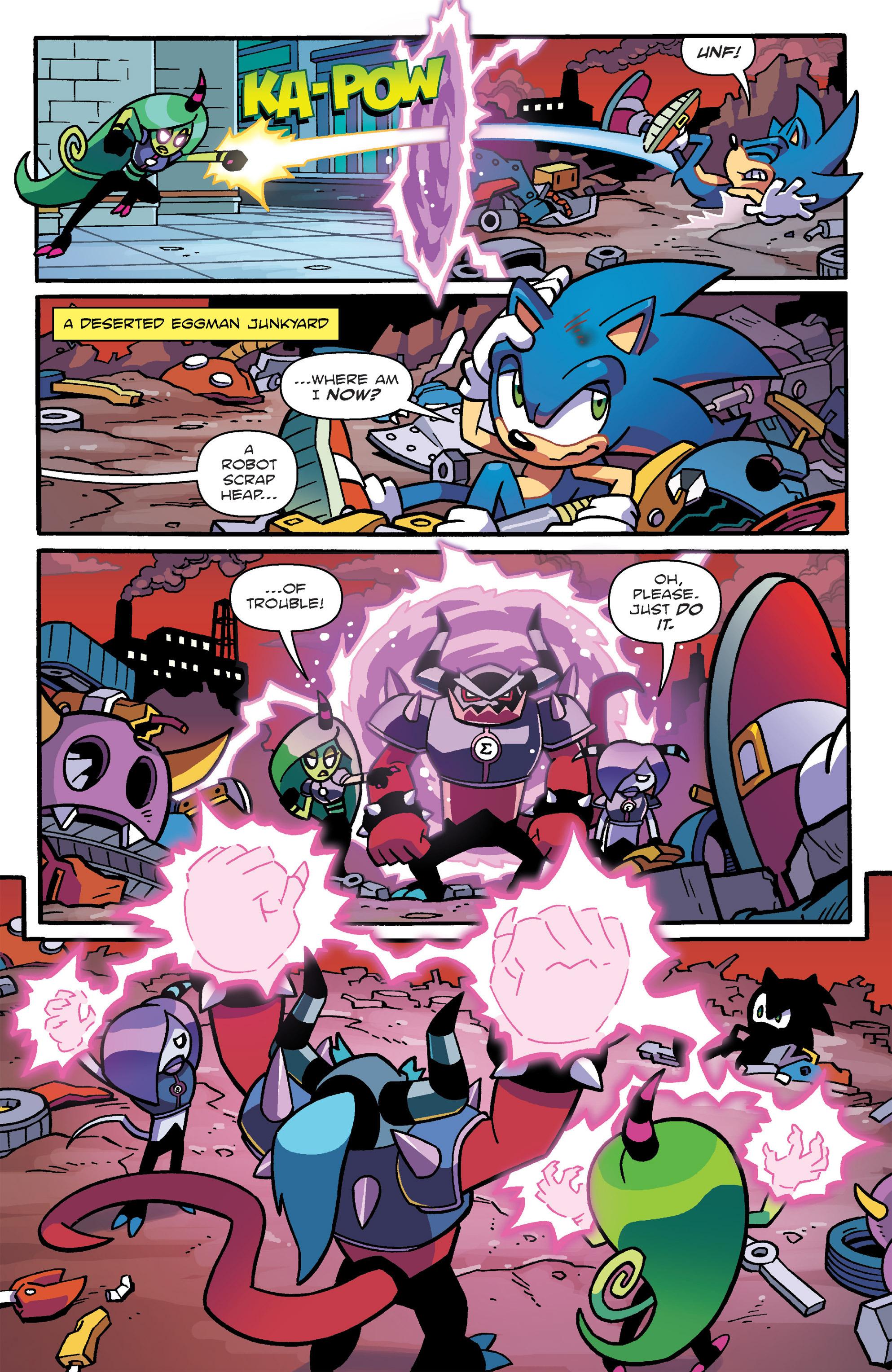 Read online Sonic: Worlds Unite Battles comic -  Issue # Full - 9