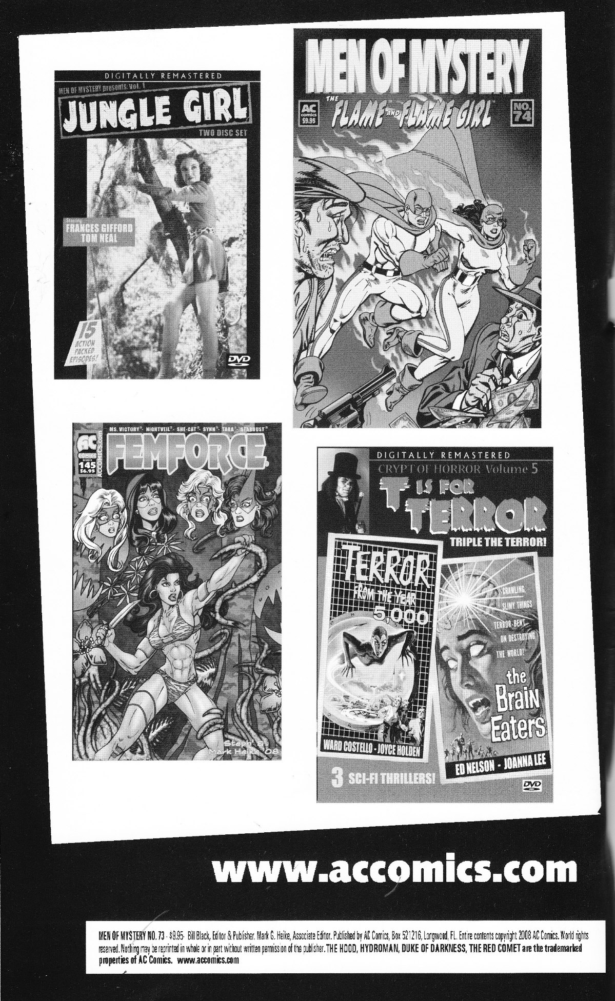 Read online Men of Mystery Comics comic -  Issue #73 - 2