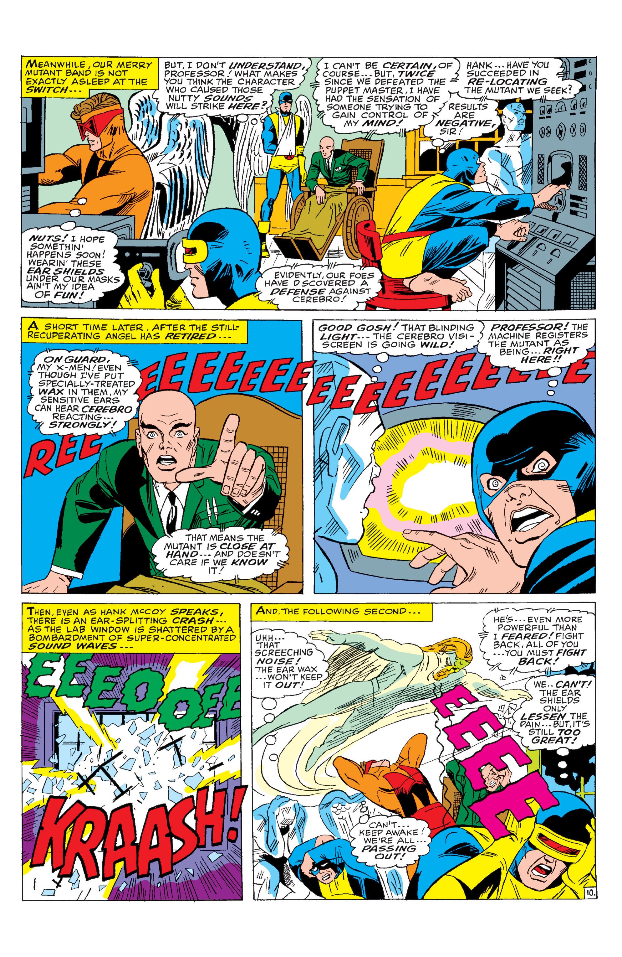 Read online Uncanny X-Men (1963) comic -  Issue #28 - 11