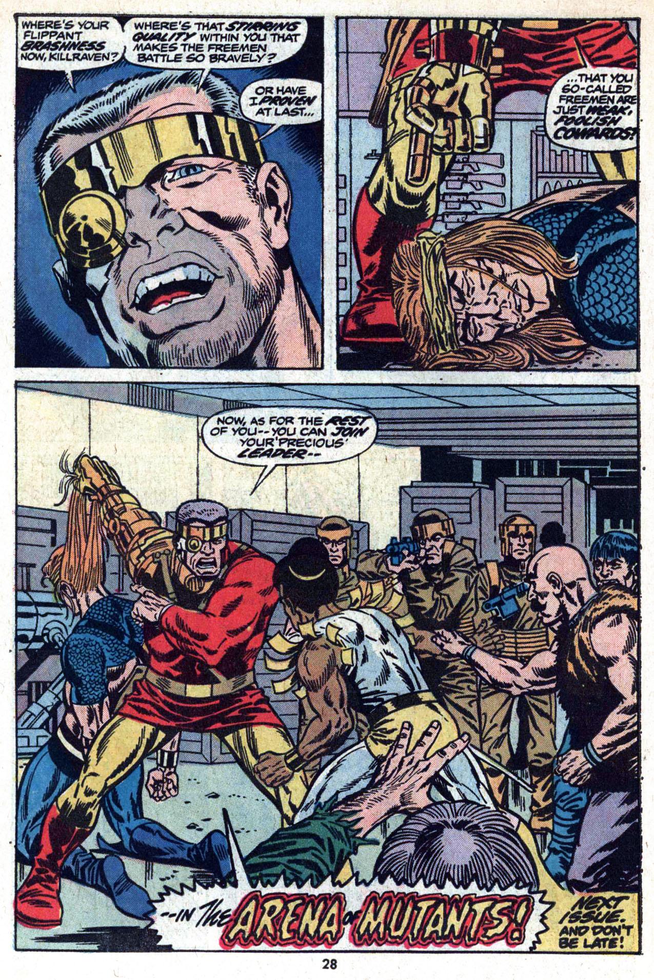 Read online Amazing Adventures (1970) comic -  Issue #20 - 30