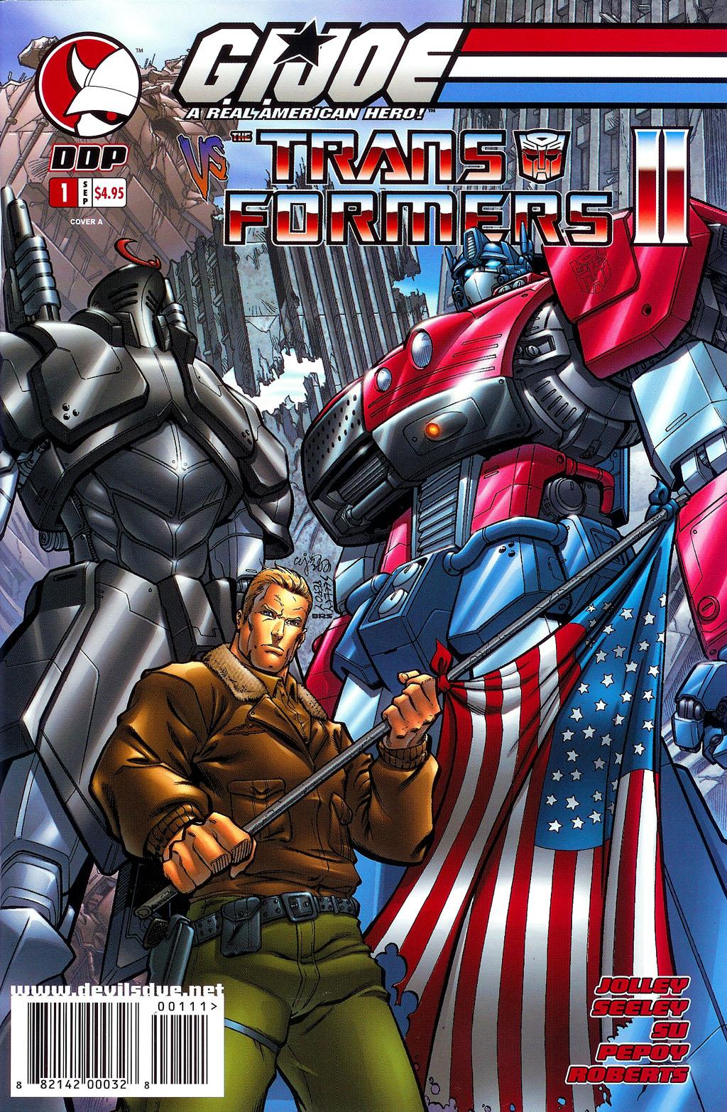 G.I. Joe vs. The Transformers II 1 Page 1
