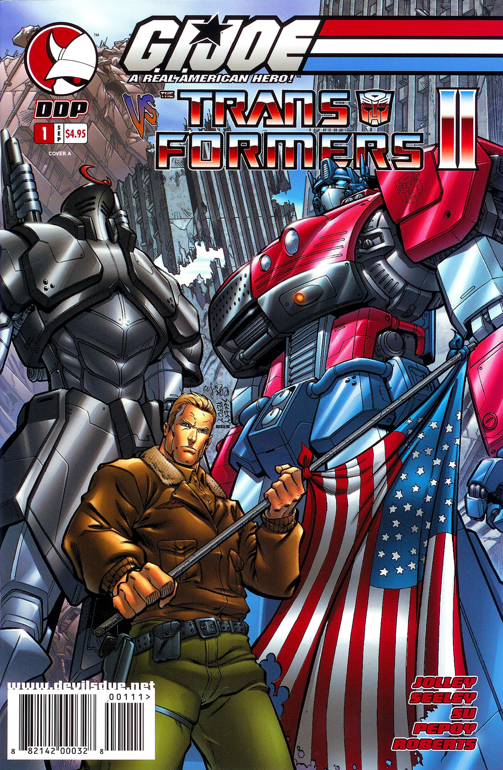 G.I. Joe vs. The Transformers II Issue #1 #2 - English 1
