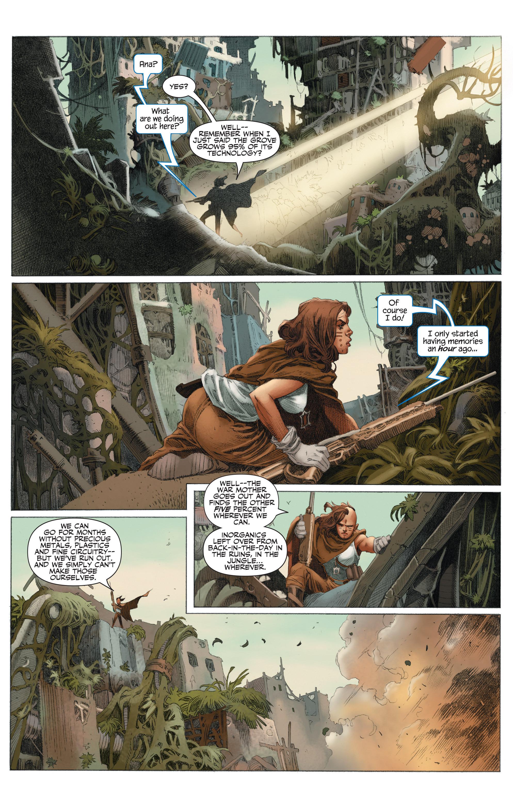 Read online 4001 A.D.: War Mother comic -  Issue #4001 A.D.: War Mother Full - 8
