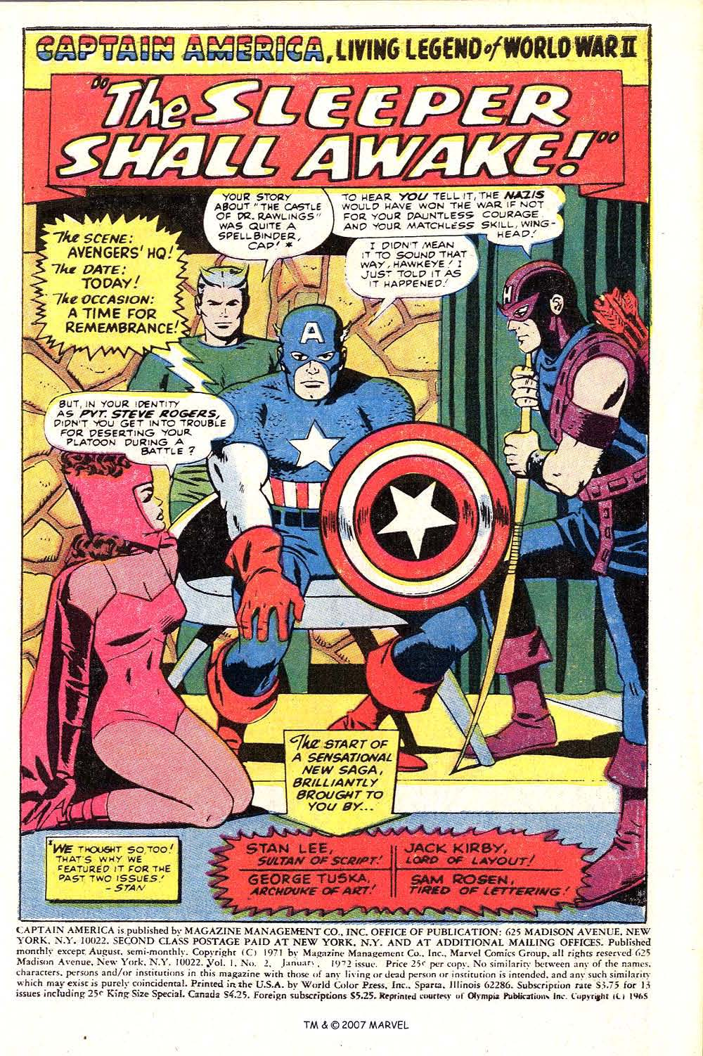 Read online Captain America (1968) comic -  Issue # _Annual 2 - 3