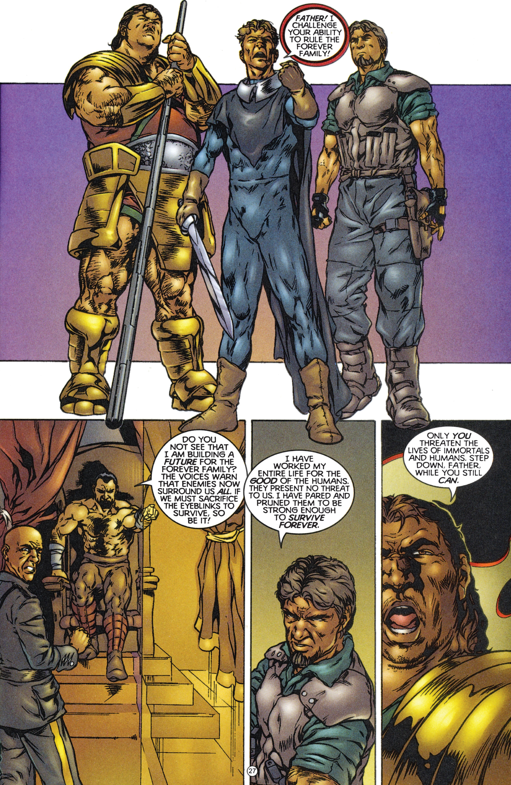 Read online Eternal Warriors comic -  Issue # Issue The Immortal Enemy - 25