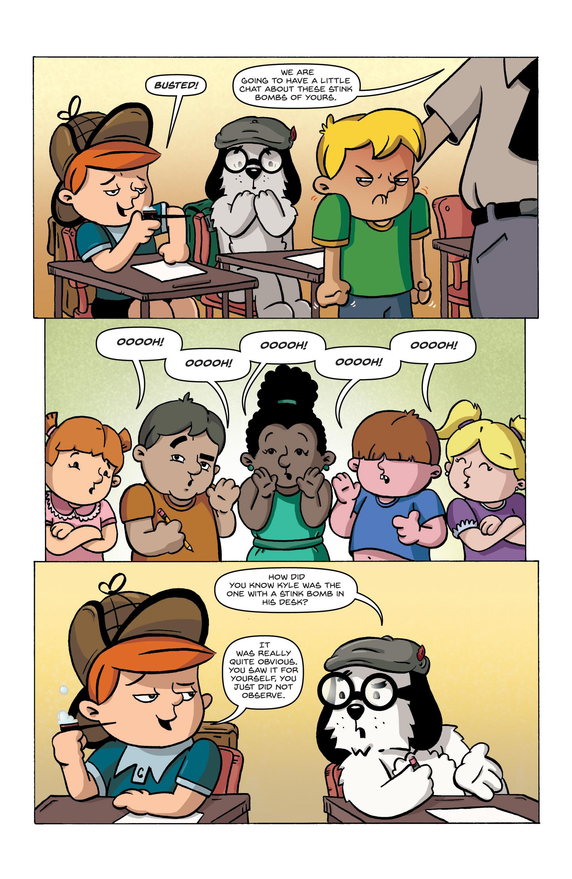 Read online Kid Sherlock comic -  Issue #1 - 21