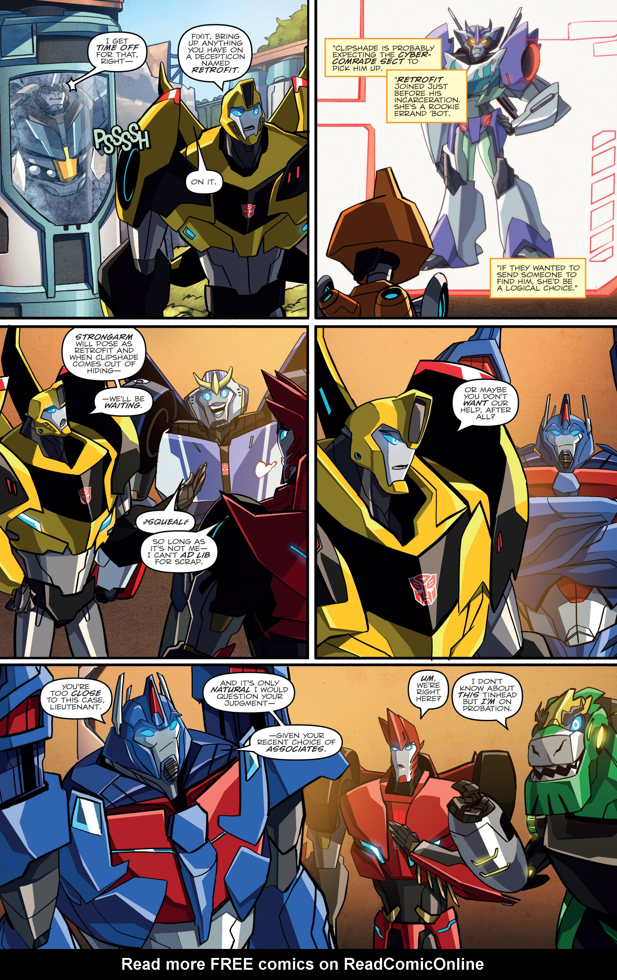 Read online Transformers: Robots In Disguise (2015) comic -  Issue #2 - 15