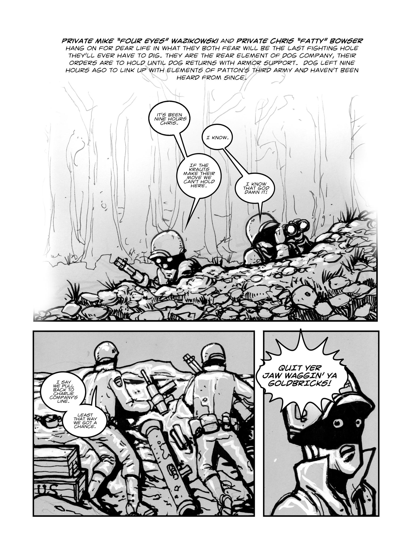 Read online FUBAR comic -  Issue #1 - 34