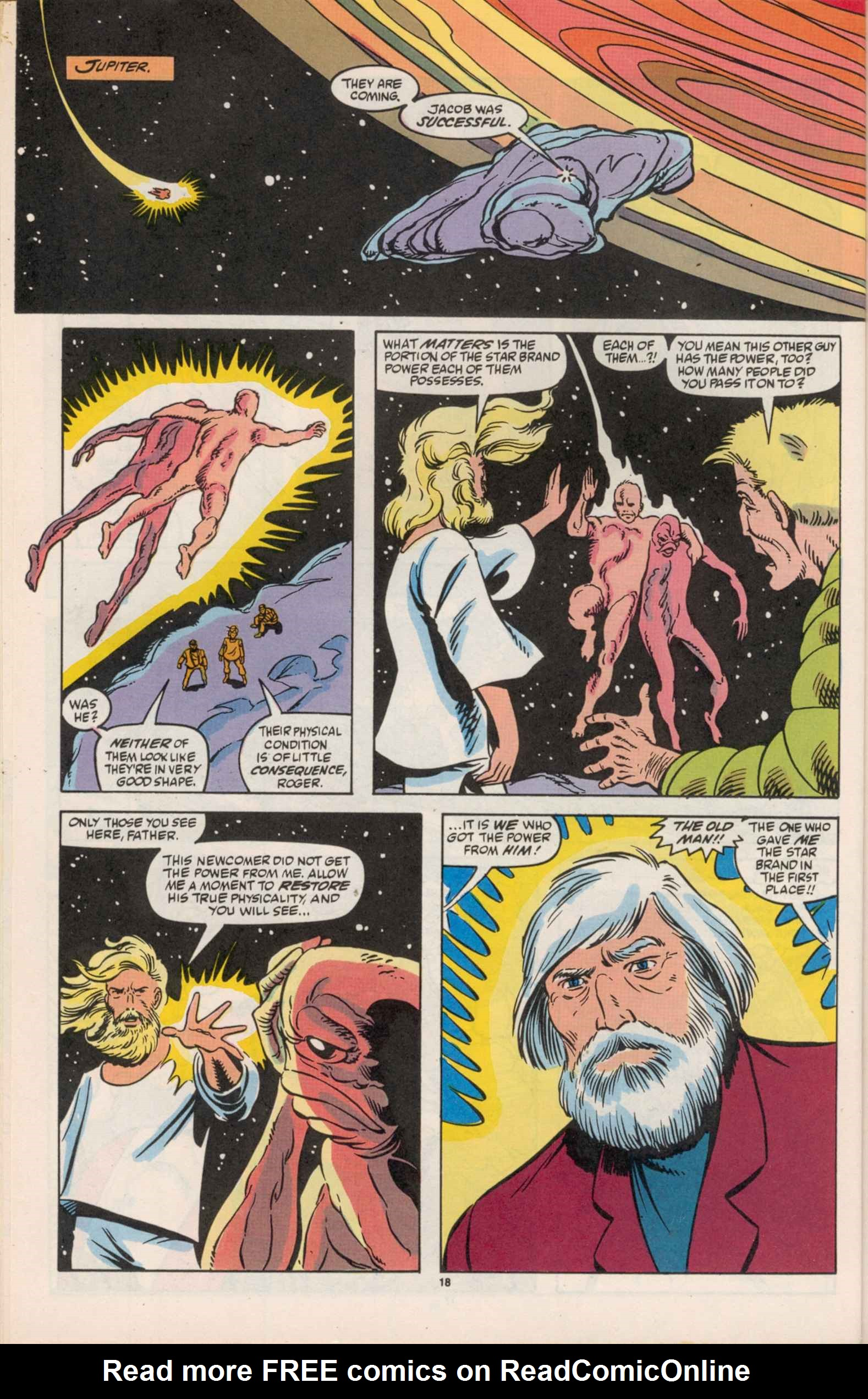 Read online Star Brand comic -  Issue #19 - 20