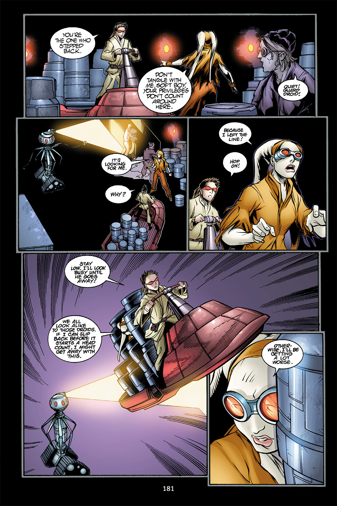 Read online Star Wars Omnibus comic -  Issue # Vol. 10 - 180