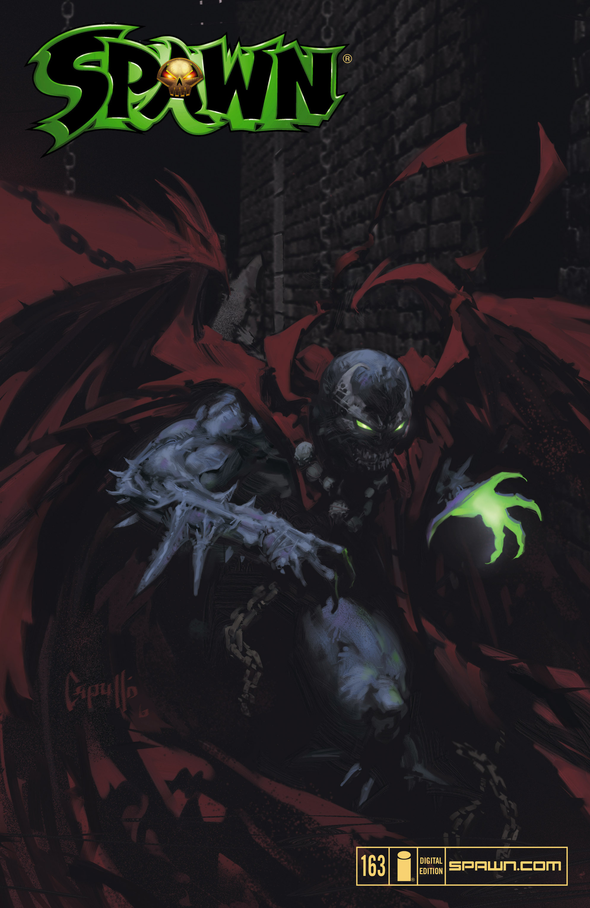 Spawn 163 Page 1