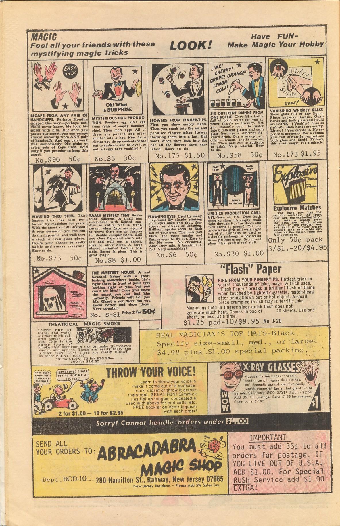 Read online Plop! comic -  Issue #20 - 30
