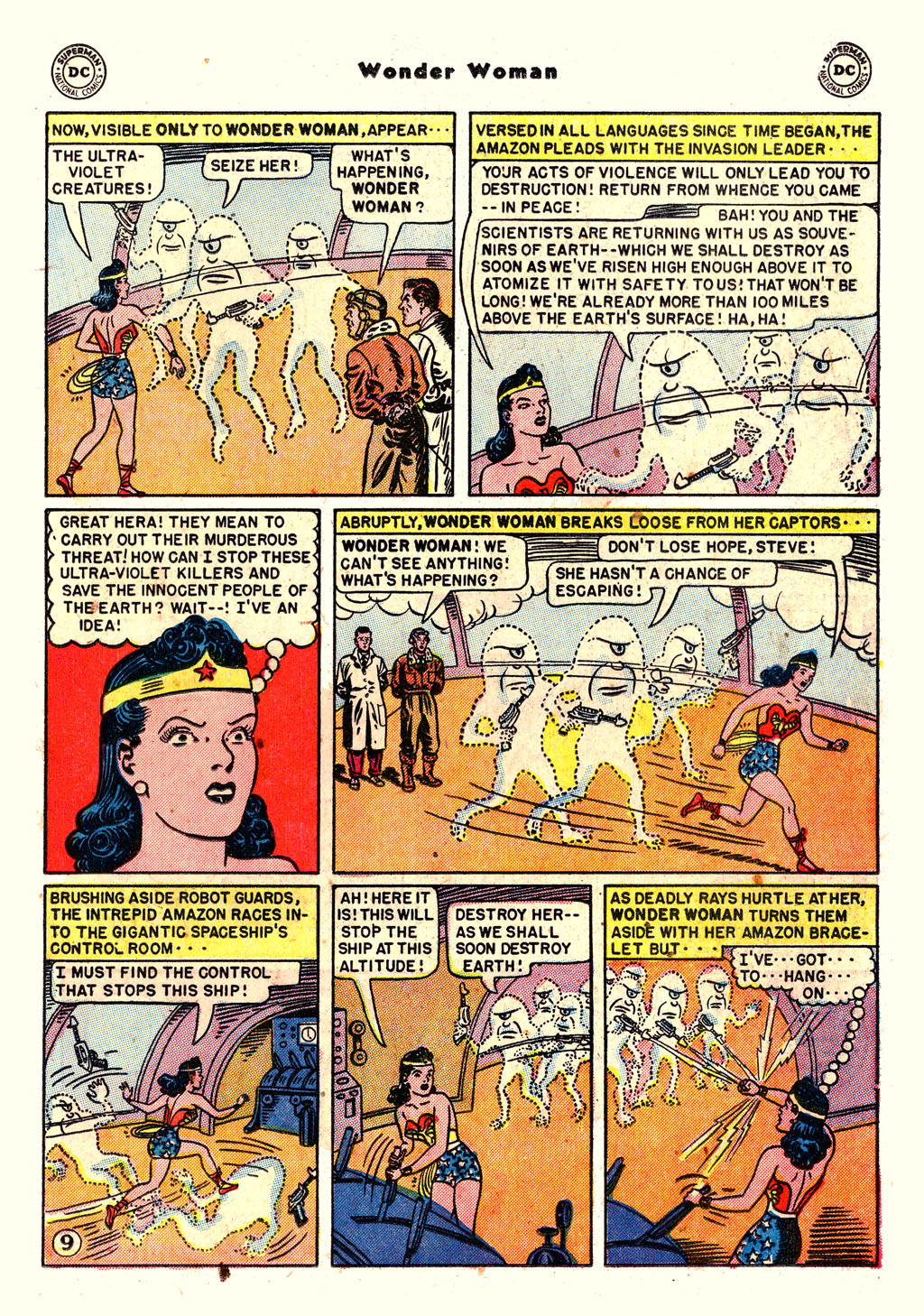 Read online Wonder Woman (1942) comic -  Issue #54 - 23