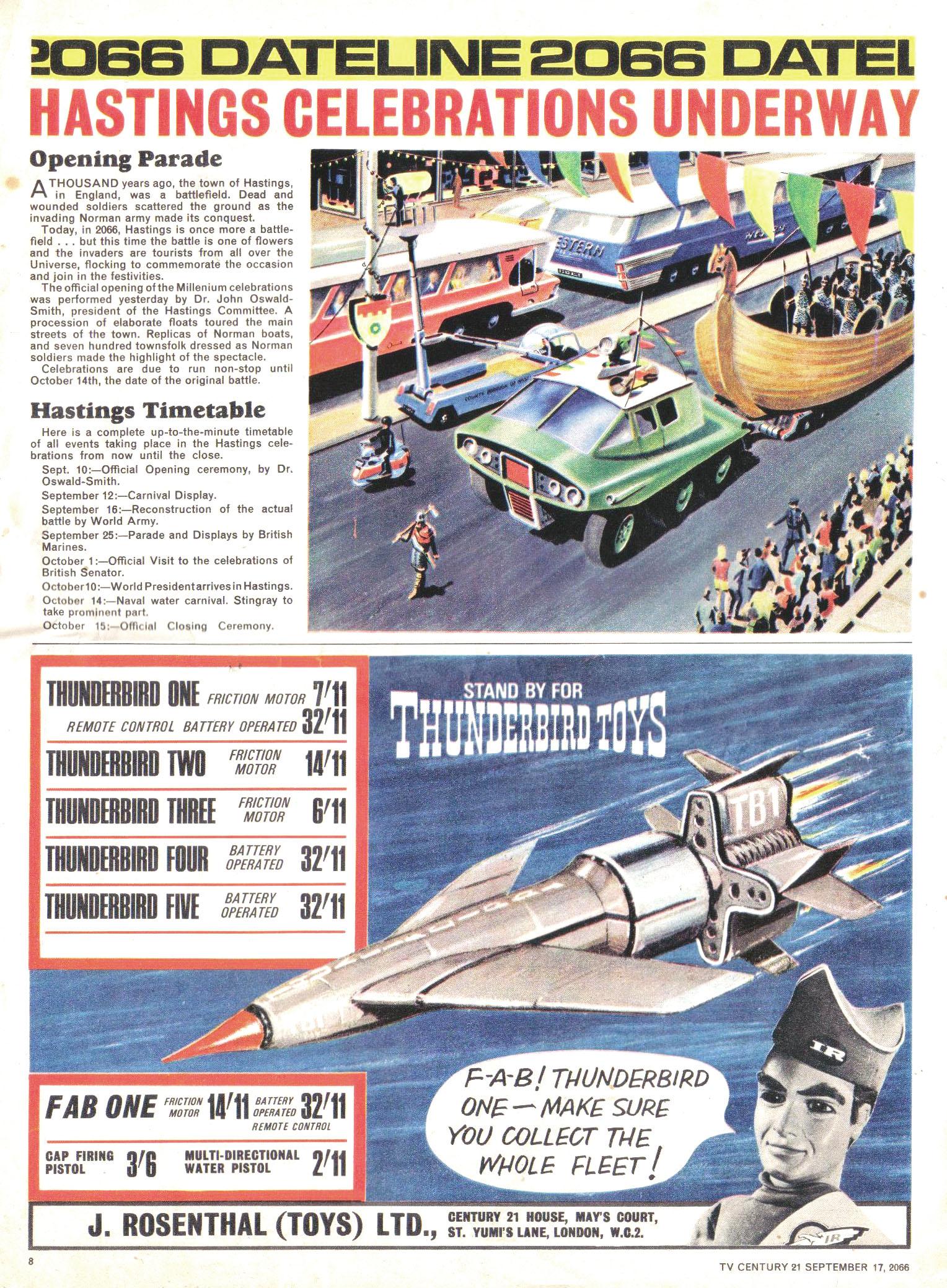 Read online TV Century 21 (TV 21) comic -  Issue #87 - 8