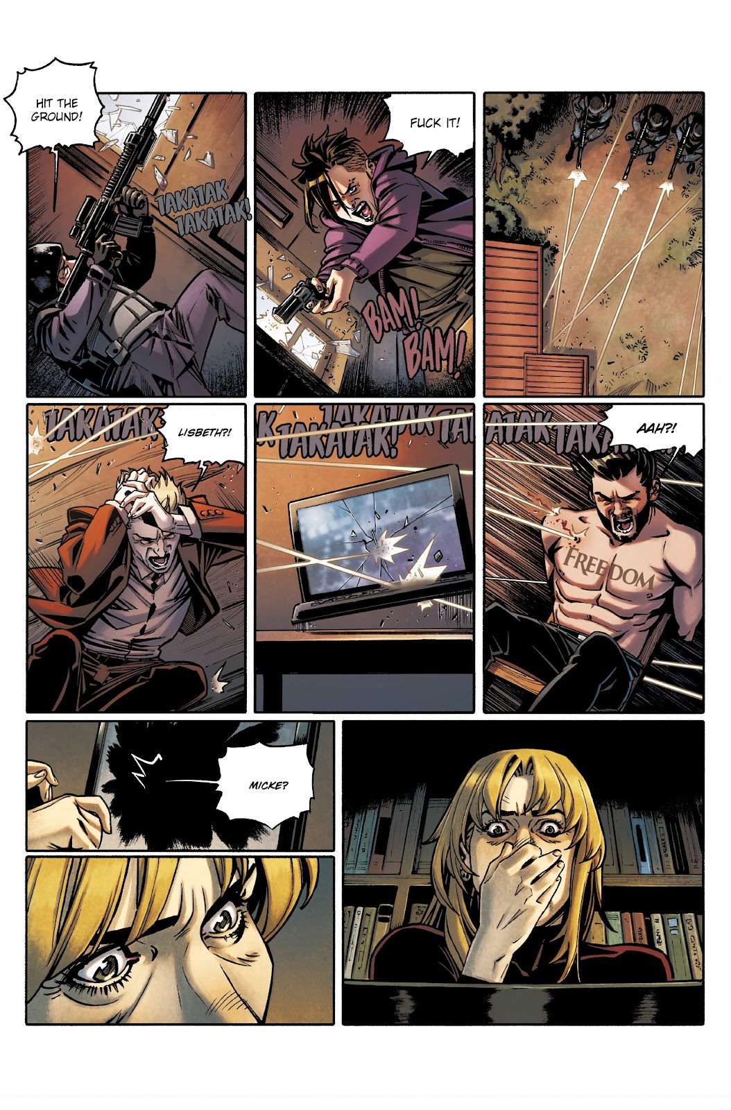 Read online Millennium: The Girl Who Danced With Death comic -  Issue #3 - 27