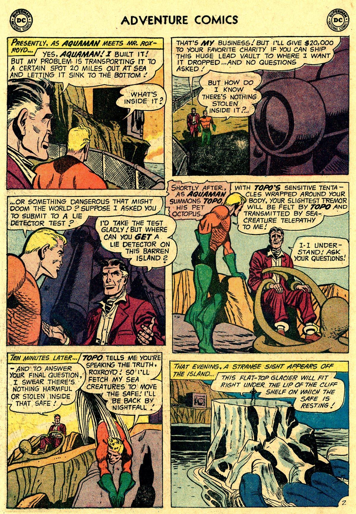 Read online Adventure Comics (1938) comic -  Issue #265 - 18
