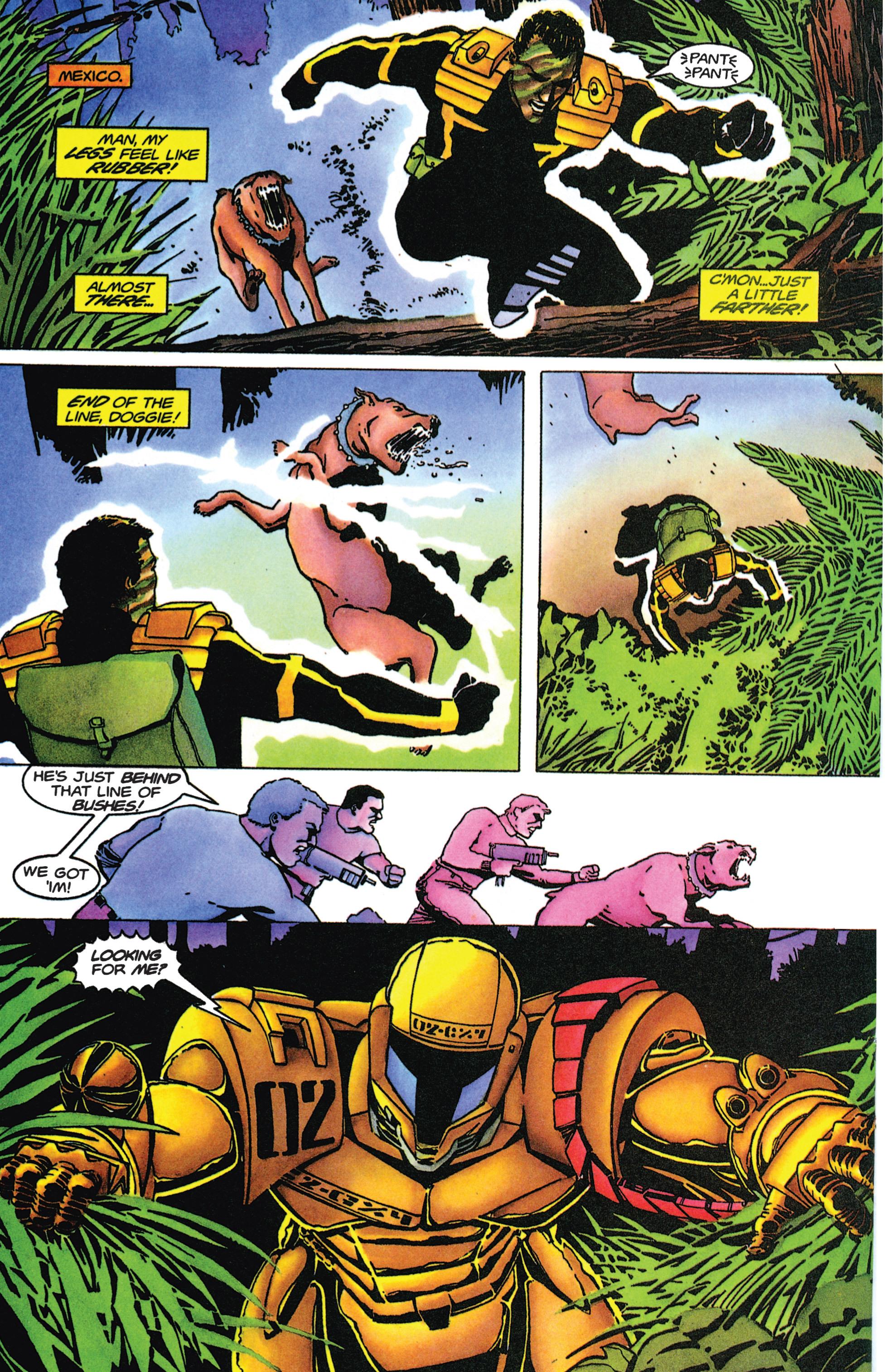 Read online Armorines comic -  Issue #9 - 17