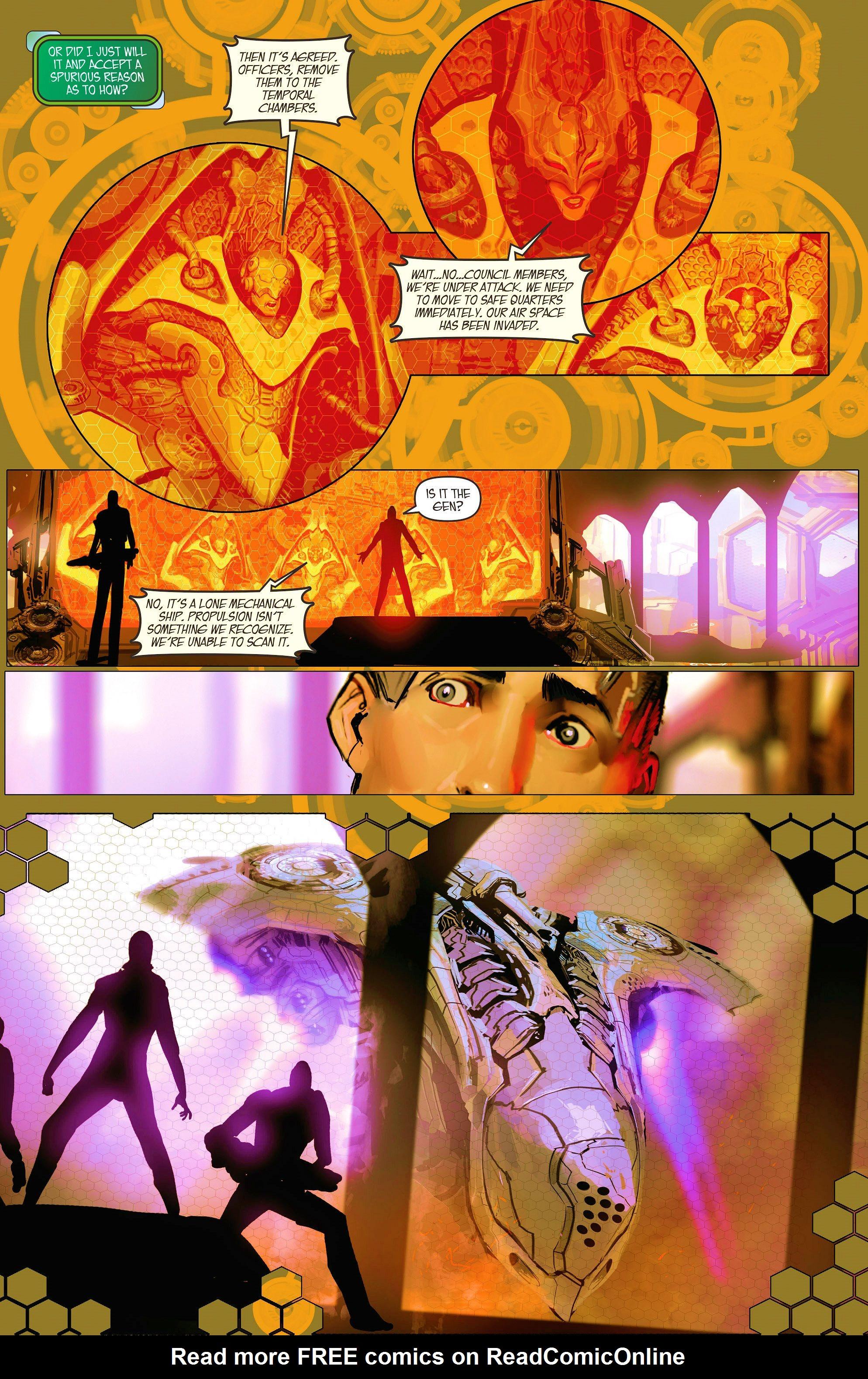 Read online Aphrodite IX (2013) comic -  Issue #10 - 15