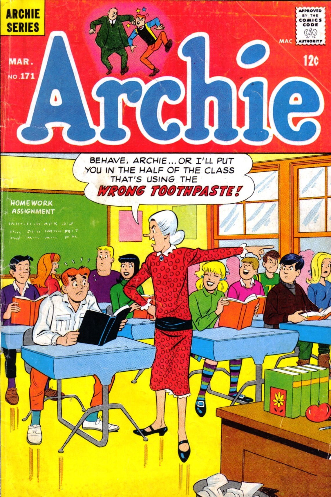 Read online Archie (1960) comic -  Issue #171 - 1