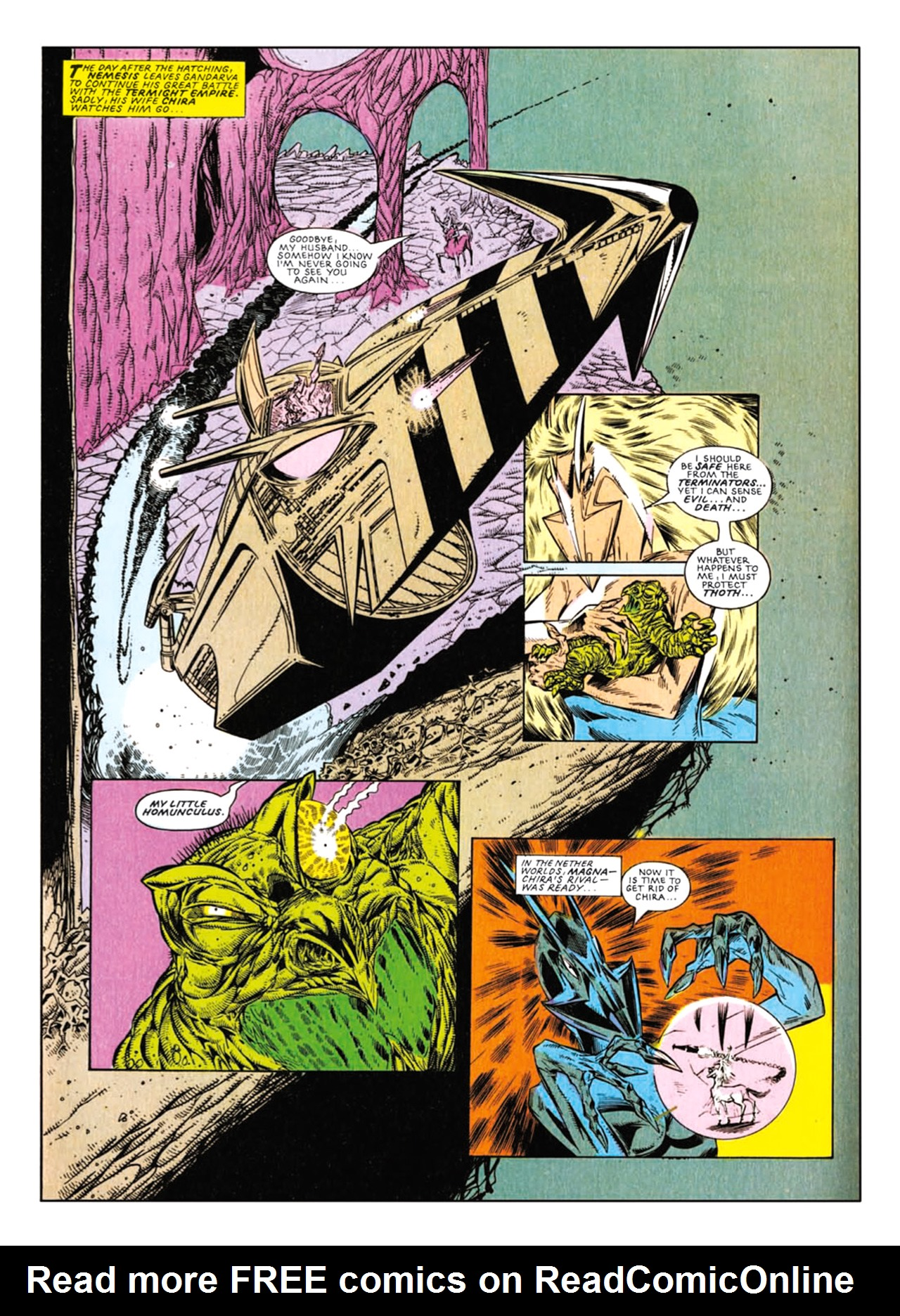 Read online Nemesis The Warlock comic -  Issue # TPB Deviant Edition - 169