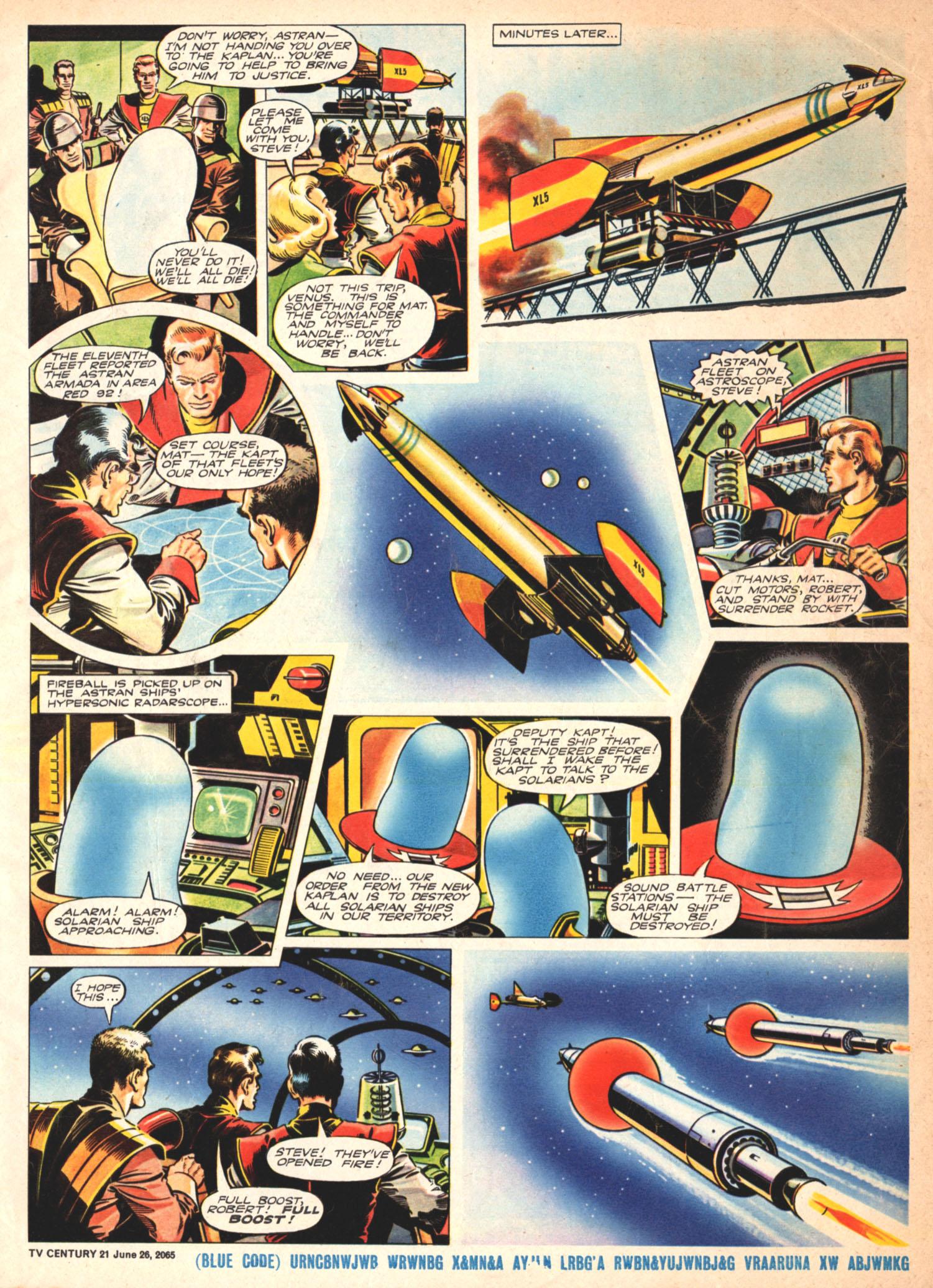 Read online TV Century 21 (TV 21) comic -  Issue #23 - 5