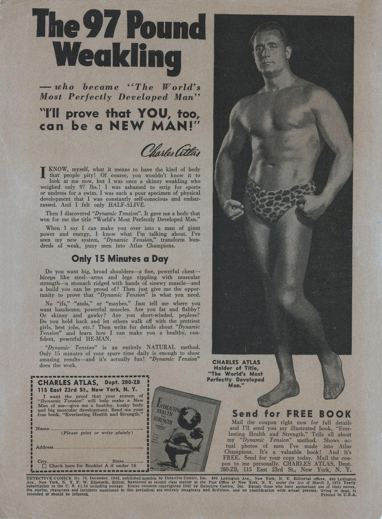 Detective Comics (1937) 70 Page 1