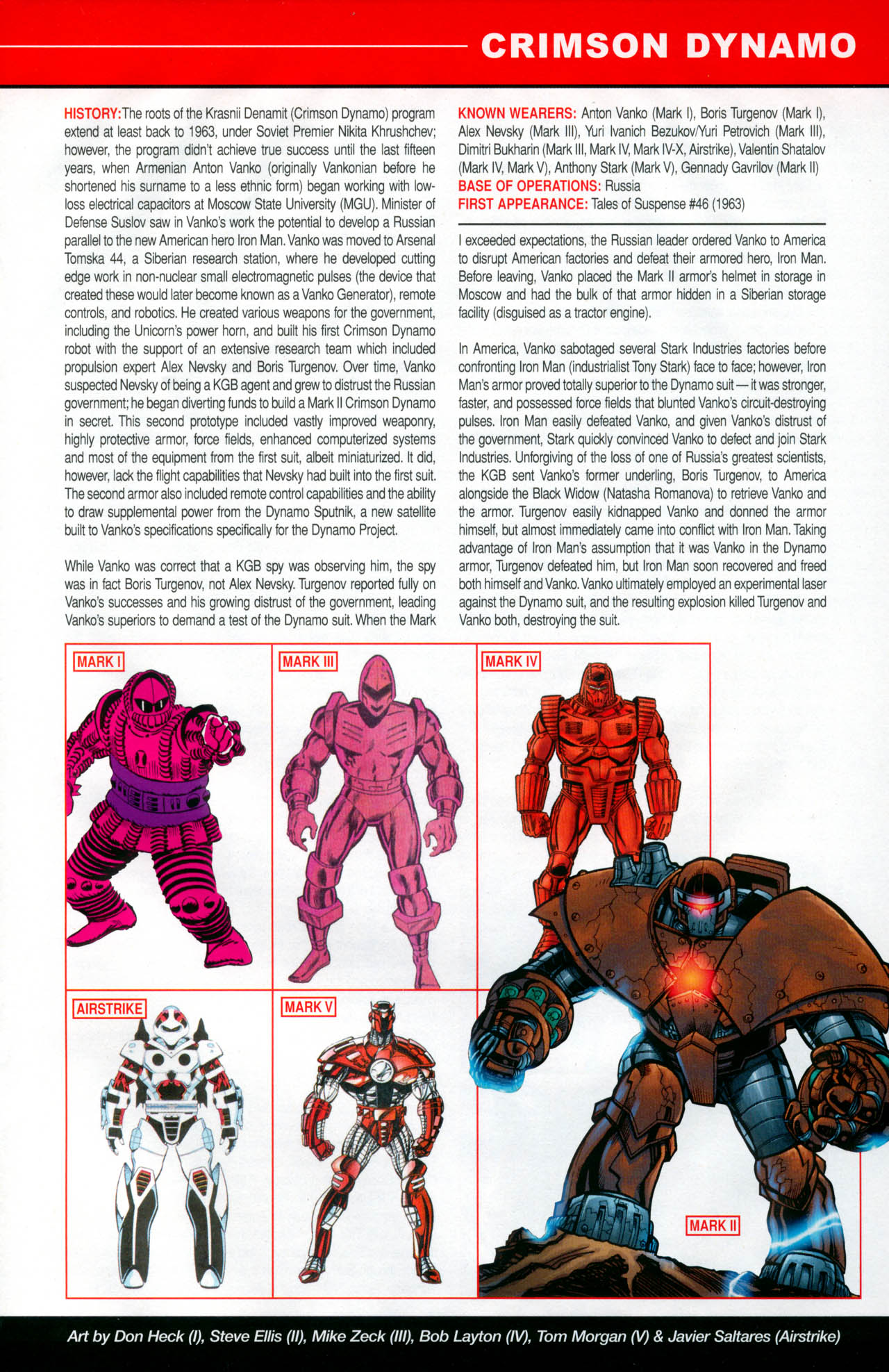 Read online All-New Official Handbook of the Marvel Universe A to Z: Update comic -  Issue #2 - 25