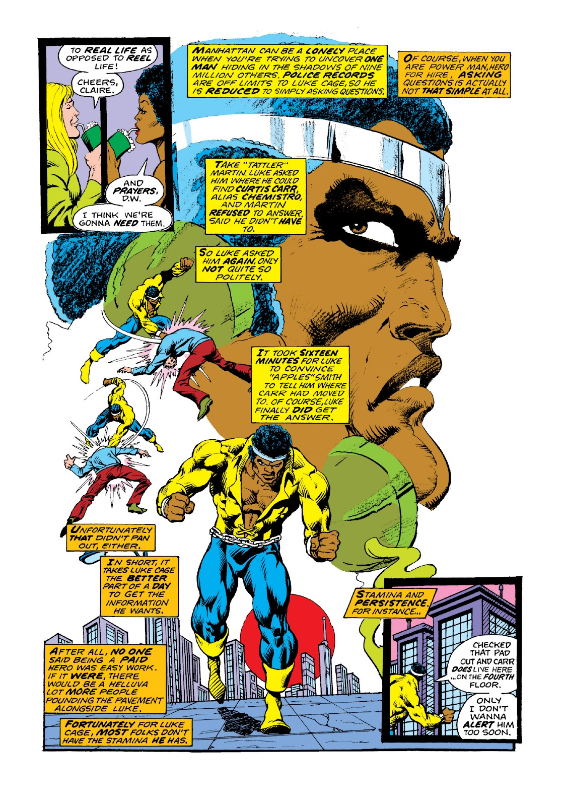 Read online Marvel Masterworks: Luke Cage, Power Man comic -  Issue # TPB 3 (Part 2) - 23