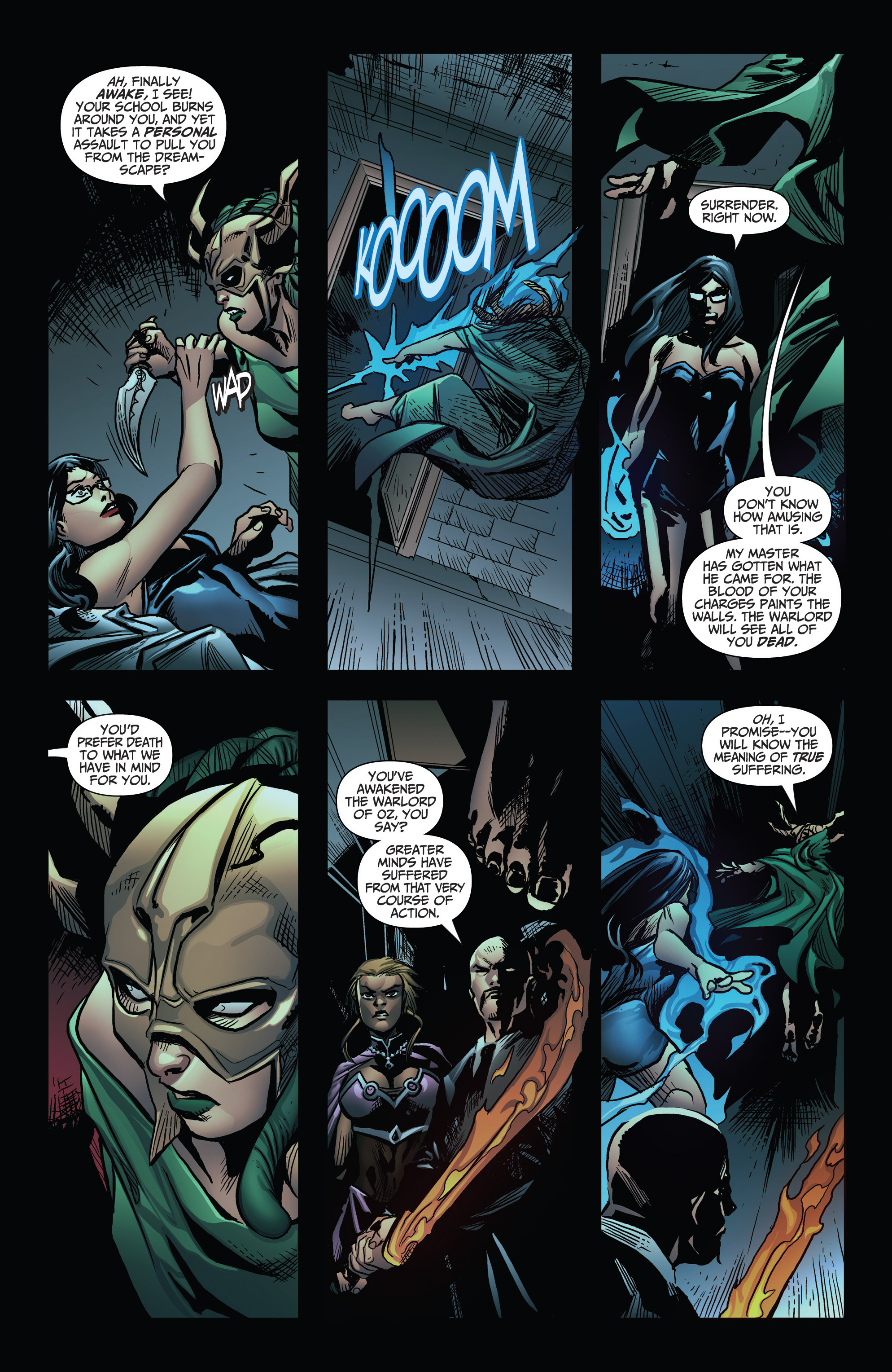 Read online Grimm Fairy Tales: Arcane Acre comic -  Issue # TPB 3 - 111