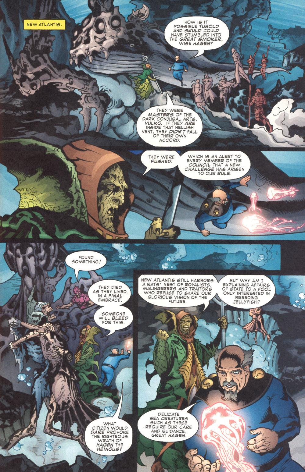 Read online Aquaman (2003) comic -  Issue #9 - 2