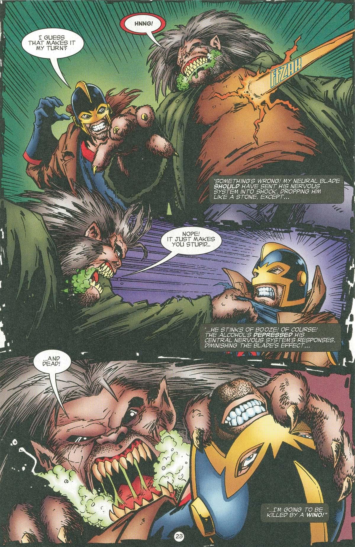Read online UltraForce (1995) comic -  Issue #6 - 26