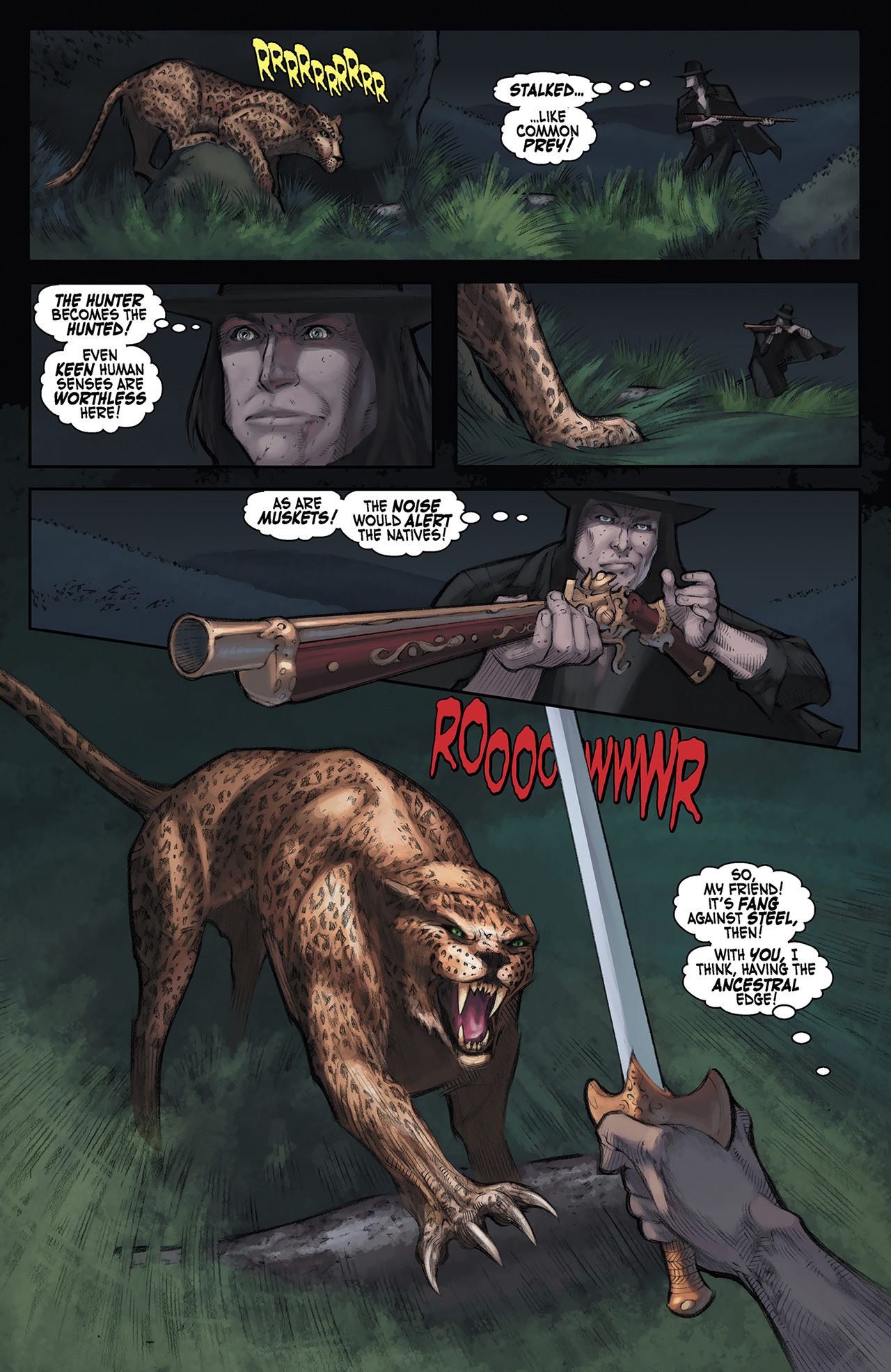 Read online Solomon Kane: Red Shadows comic -  Issue #3 - 9