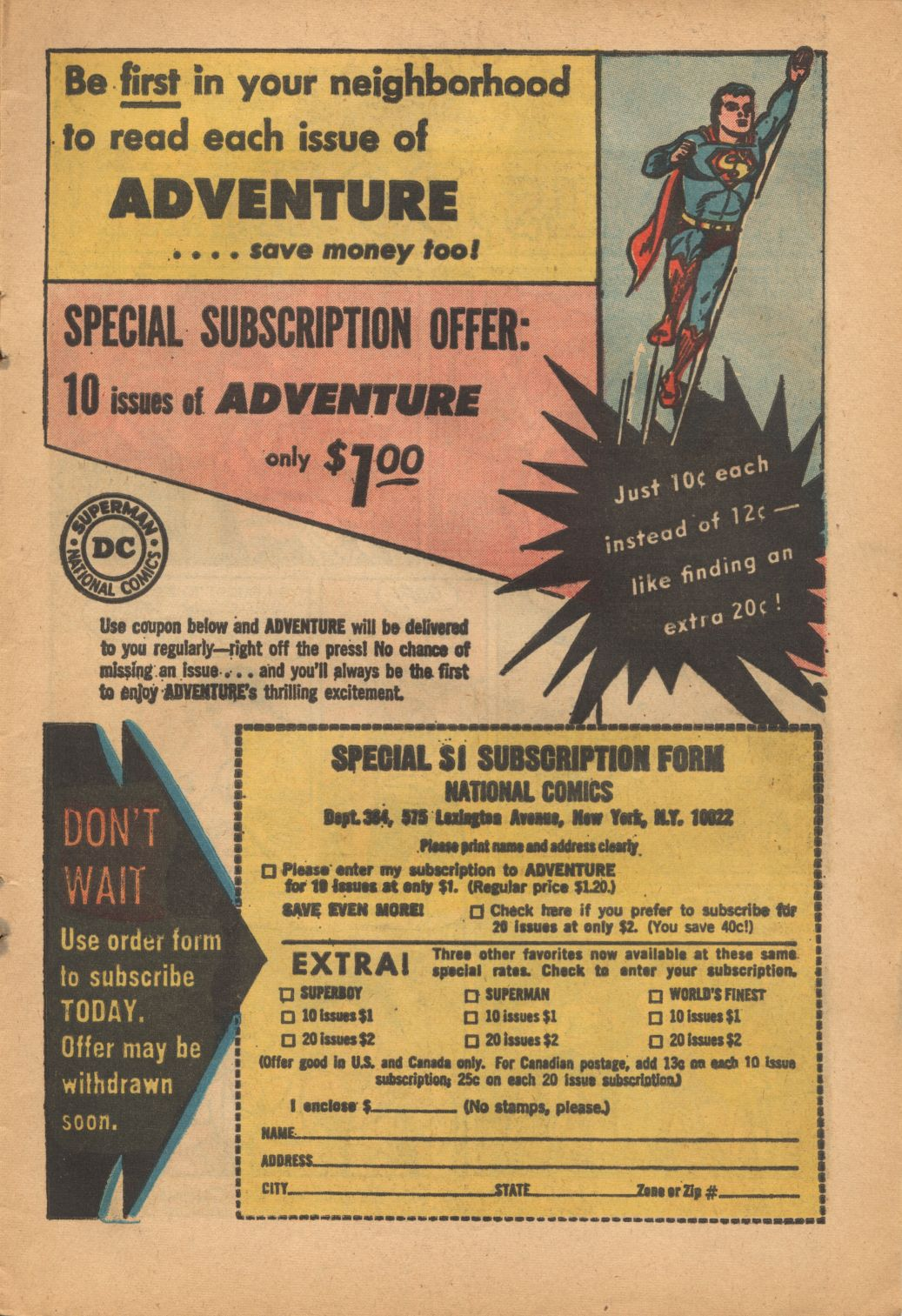 Read online Adventure Comics (1938) comic -  Issue #320 - 13