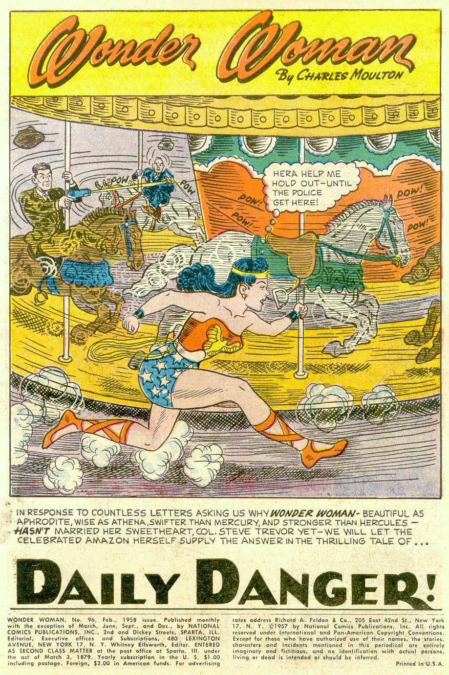 Read online Wonder Woman (1942) comic -  Issue #96 - 4