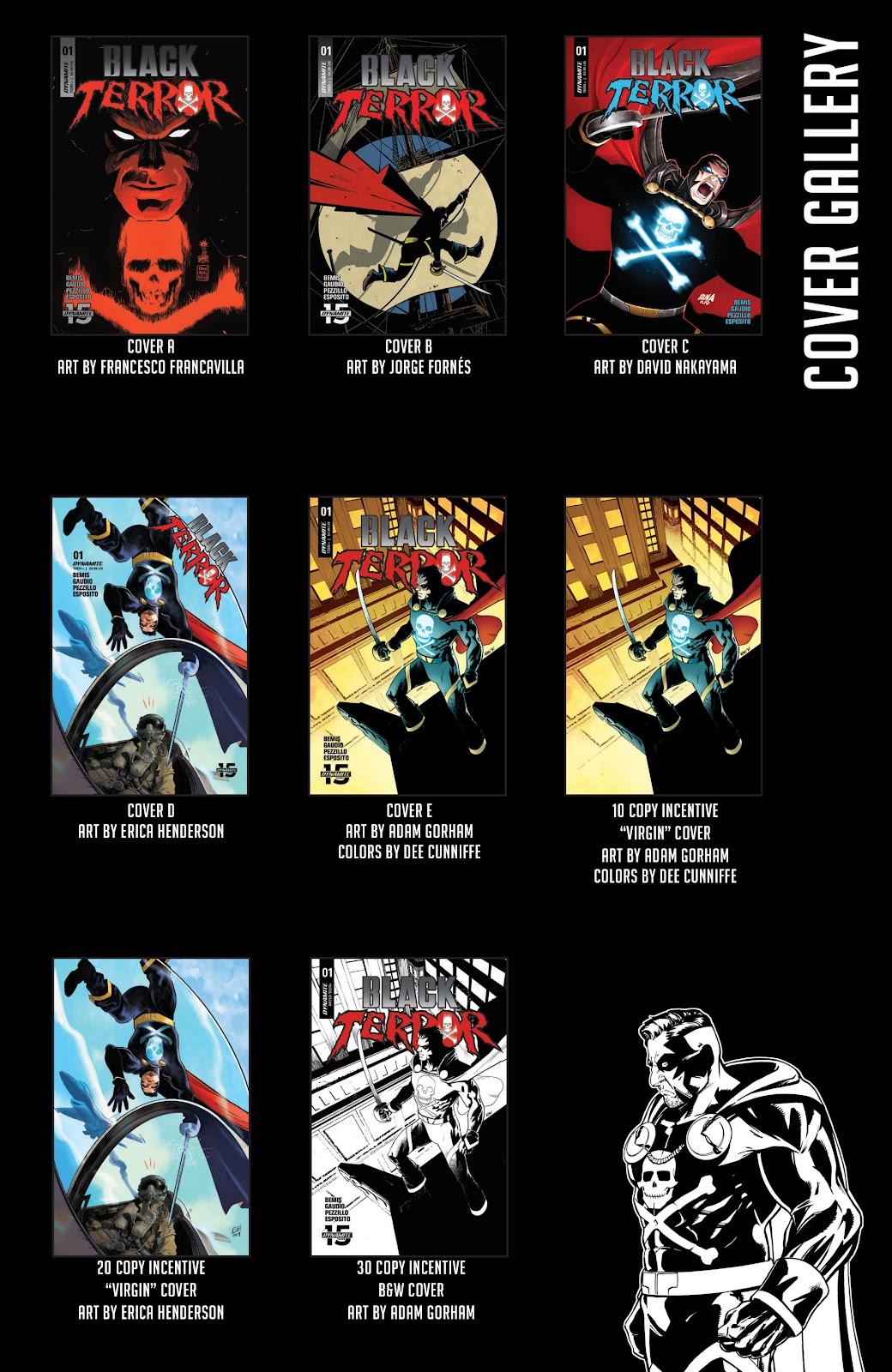 Read online Black Terror (2019) comic -  Issue # Full - 28