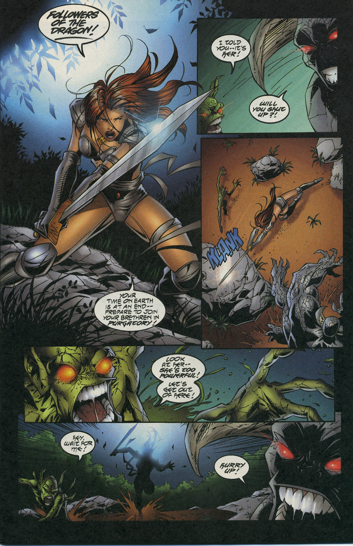 Read online Avengelyne/Warrior Nun Areala comic -  Issue # Full - 6