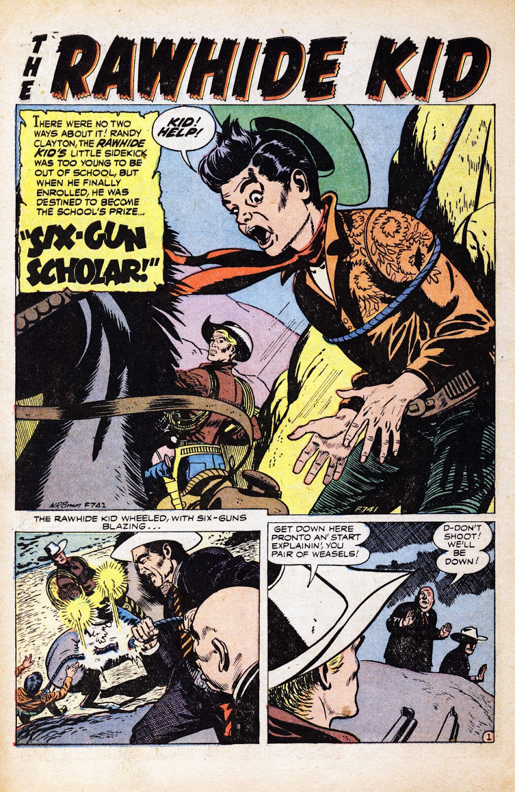 The Rawhide Kid (1955) issue 2 - Page 10