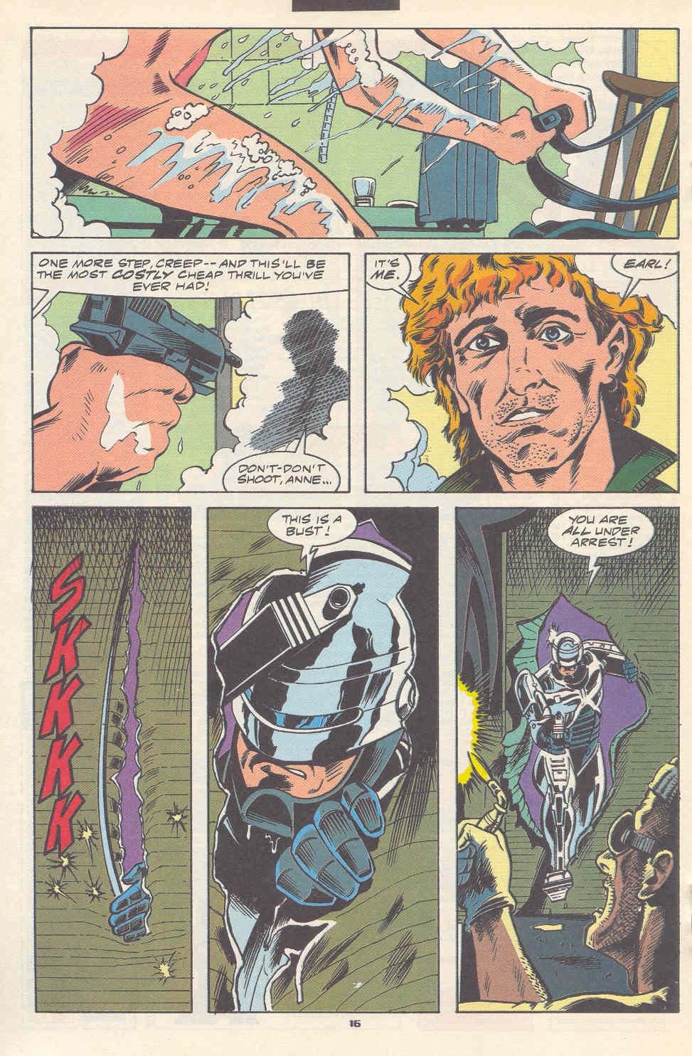 Read online Robocop (1990) comic -  Issue #17 - 13