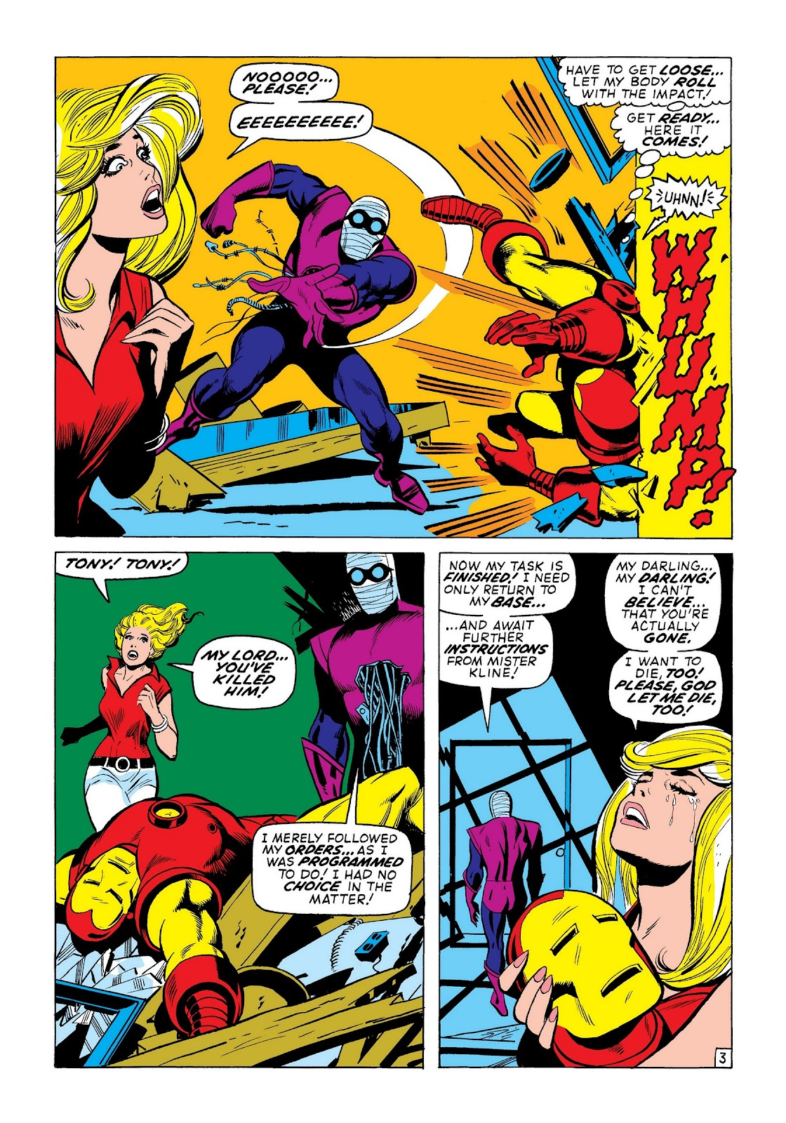 Read online Marvel Masterworks: The Invincible Iron Man comic -  Issue # TPB 8 (Part 2) - 25