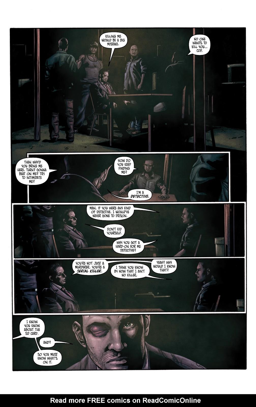 Read online Vindication comic -  Issue #3 - 6