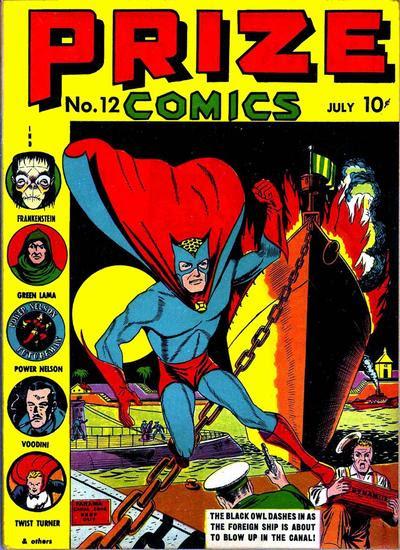 Prize Comics 12 Page 1