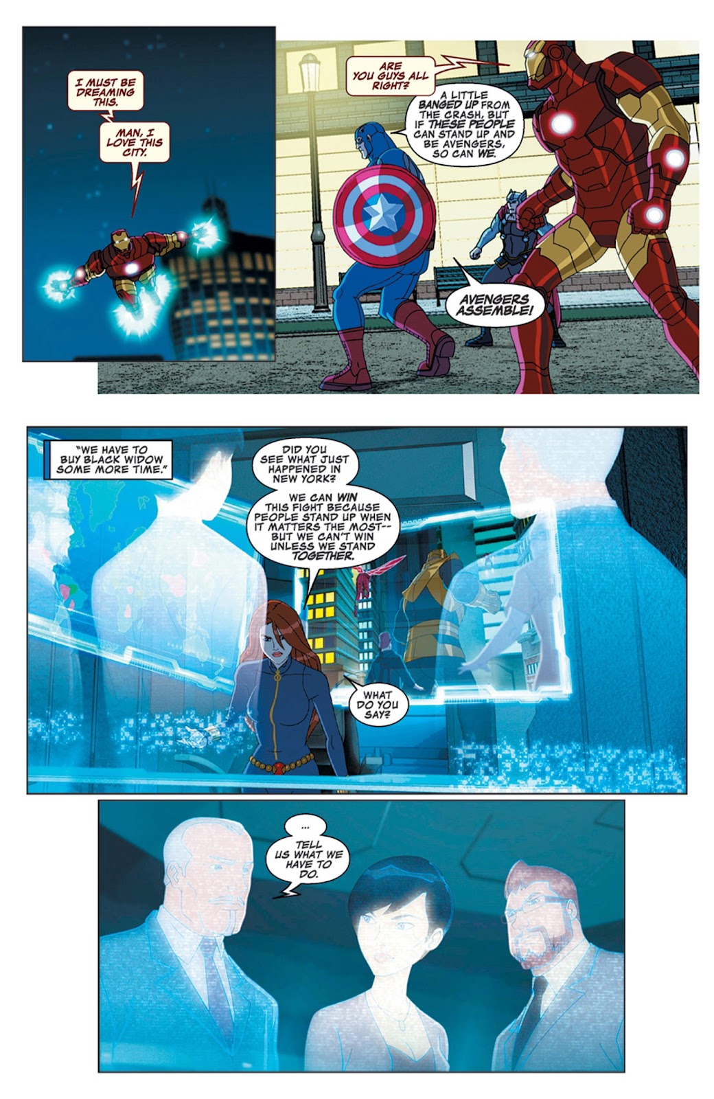 Read online Marvel Universe Avengers Assemble Season 2 comic -  Issue #16 - 23