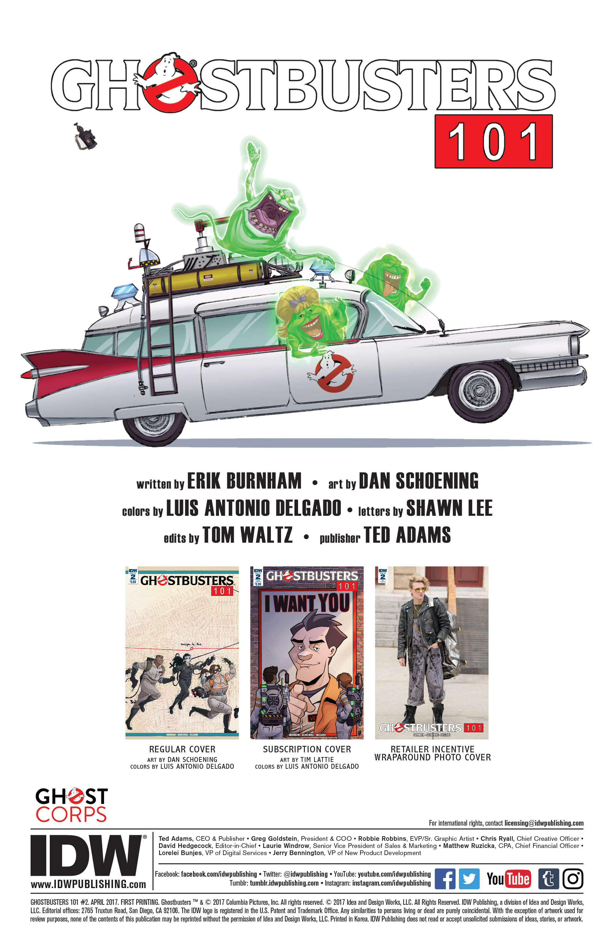 Read online Ghostbusters 101 comic -  Issue #2 - 2